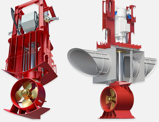Graphics: Retractable Azimuth Thrusters